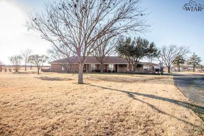 Wichita County Single Family Home For Sale: 4822 Turkey Ranch Road
