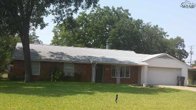 Wichita Falls Single Family Home For Sale: 4808 Florist Street