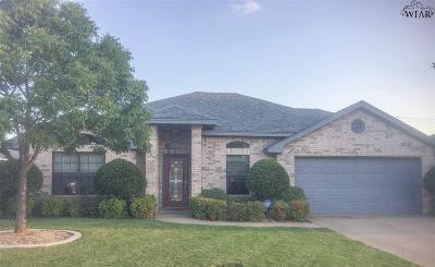 Wichita Falls Single Family Home Active-Contingency: 6011 Van Dorn Drive