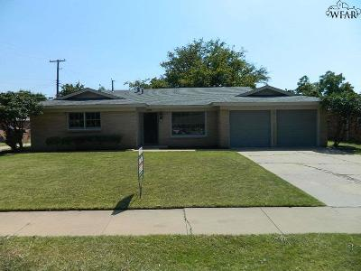 Wichita Falls Single Family Home Active-Contingency: 1523 Sweetbriar Drive