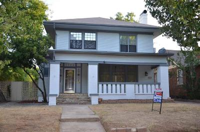 Wichita Falls Single Family Home For Sale: 1712 Huff Street