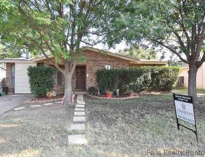 Wichita Falls Single Family Home For Sale: 1304 Hunt Street