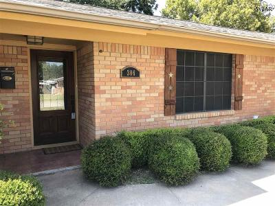 Burkburnett Single Family Home For Sale: 306 Mimosa Drive