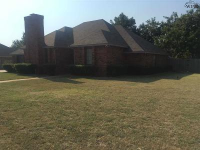 Wichita Falls Single Family Home For Sale: 4519 York Street