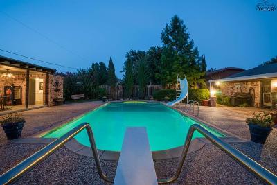 Burkburnett Single Family Home Active W/Option Contract: 914 Kiowa Drive