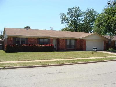 Wichita Falls Single Family Home For Sale: 4626 Sierra Madre Drive