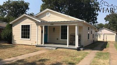 Wichita Falls Single Family Home For Sale: 2310 Bullington Street