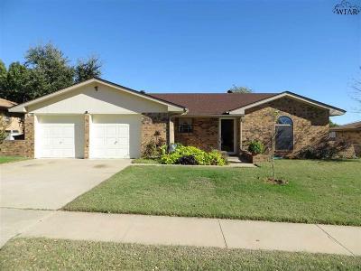 Wichita Falls Single Family Home For Sale: 4719 Lois Lane