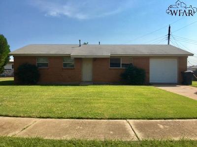 Wichita Falls Single Family Home For Sale: 1630 Red Fox Road