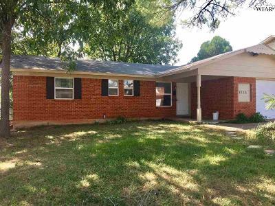 Wichita Falls Single Family Home For Sale: 4726 Gay Street