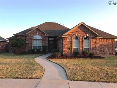 Wichita Falls TX Single Family Home For Sale: $182,900