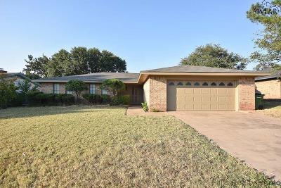 Wichita Falls Single Family Home For Sale: 5014 Edgecliff Drive