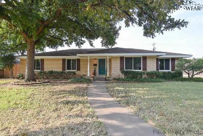 Wichita Falls Single Family Home For Sale: 2307 Barbados Drive