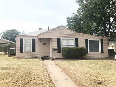 Wichita Falls TX Single Family Home For Sale: $66,500