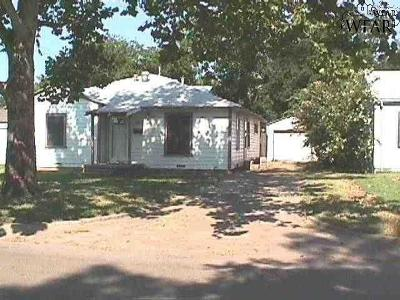 Wichita Falls Single Family Home For Sale: 2204 Monroe Street