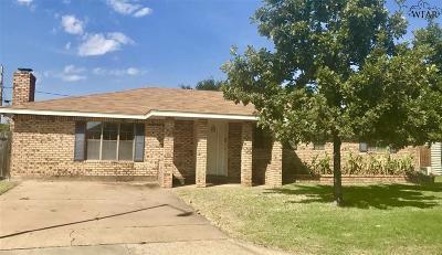 Wichita Falls Single Family Home For Sale: 4606 Belmount Drive