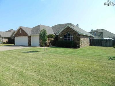Wichita Falls Single Family Home For Sale: 4805 Pinehurst Drive