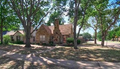 Wichita Falls Single Family Home For Sale: 1675 Victory Avenue