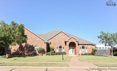 Wichita Falls Single Family Home For Sale: 4326 Wendover Street