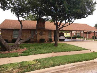Wichita Falls Single Family Home For Sale: 4511 Spanish Trace