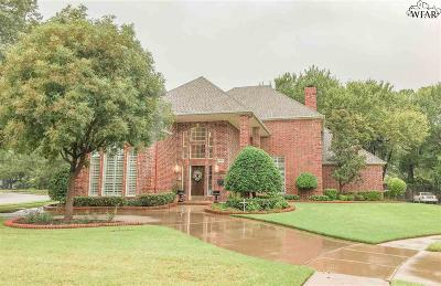 Wichita Falls Single Family Home For Sale: 9 Barcelona Court