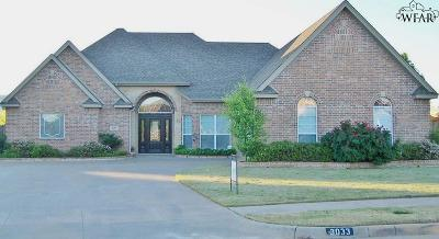Wichita County Rental For Rent: 3033 Cromwell Avenue