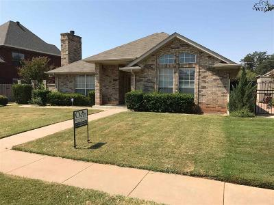 Wichita Falls Single Family Home For Sale: 4616 Wendover Street