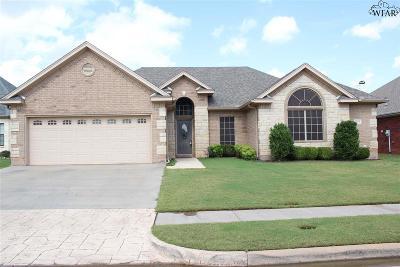 Wichita Falls Single Family Home Active W/Option Contract: 4 Jasmine Court