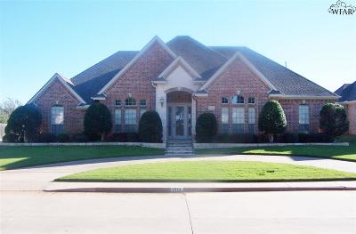 Wichita Falls Single Family Home For Sale: 1514 Tanglewood Drive