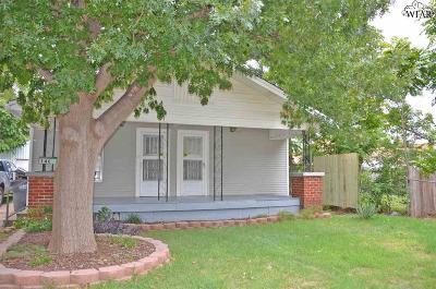 Wichita Falls TX Single Family Home For Sale: $46,000