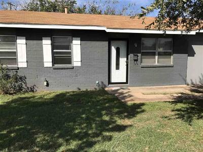 Wichita Falls TX Single Family Home For Sale: $68,500
