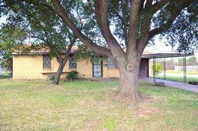 Wichita Falls TX Single Family Home For Sale: $40,000