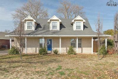Burkburnett Single Family Home For Sale: 511 Charlotte Avenue