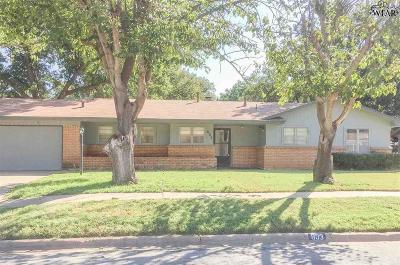 Burkburnett Single Family Home For Sale: 803 Mimosa Street