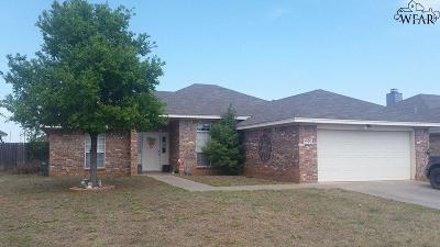Wichita County Rental For Rent: 6028 Van Dorn Drive
