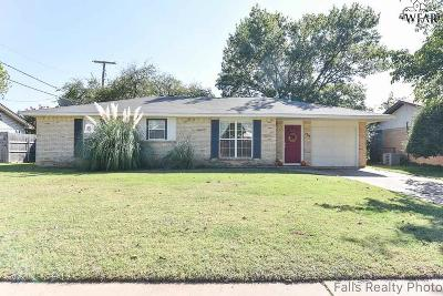 Wichita Falls TX Single Family Home For Sale: $117,000