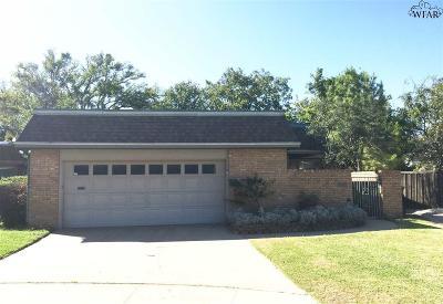 Wichita Falls TX Single Family Home For Sale: $139,000