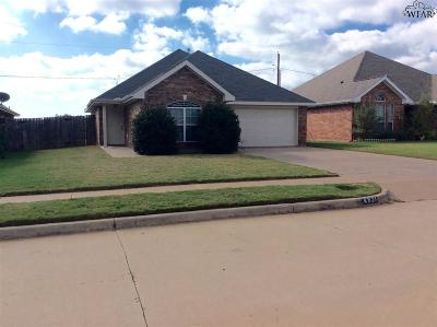 Wichita Falls TX Single Family Home For Sale: $159,500