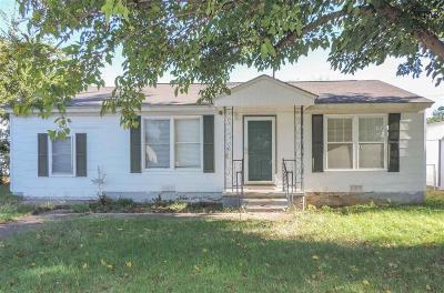 Wichita Falls TX Single Family Home For Sale: $59,900