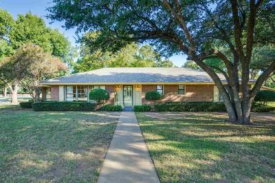 Wichita Falls Single Family Home For Sale: 4416 Montego Drive