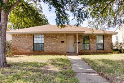 Wichita Falls Single Family Home For Sale: 3312 Garfield Street