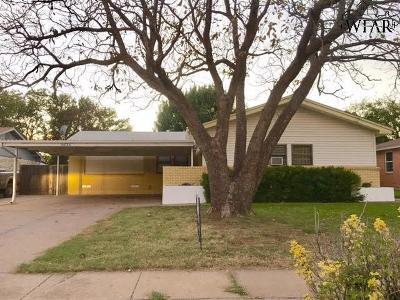 Wichita Falls Single Family Home For Sale: 4634 Fairway Boulevard