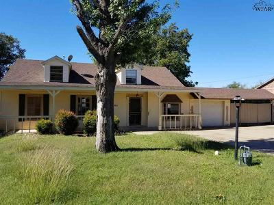 Wichita Falls Single Family Home For Sale: 704 Fillmore Street