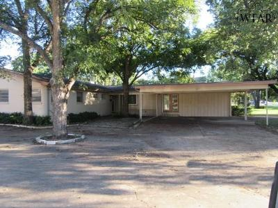 Wichita County Single Family Home For Sale: 3217 Martin Boulevard
