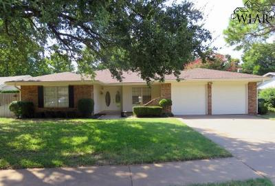 Wichita County Single Family Home For Sale: 2618 Elmwood Avenue