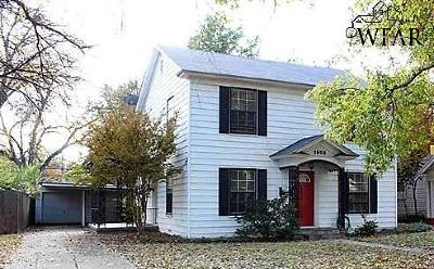 Wichita County Single Family Home For Sale: 1905 Victory Avenue
