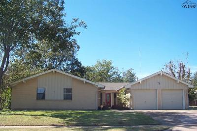 Wichita Falls Single Family Home For Sale: 2602 Lansing Boulevard