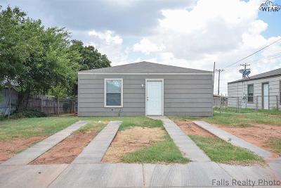 Wichita Falls Single Family Home For Sale: 1702 Trueheart Avenue