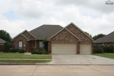 Wichita County Rental For Rent: 1722 Rockridge Drive