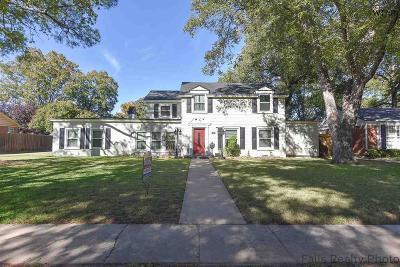Wichita Falls Single Family Home For Sale: 2412 Cambridge Avenue